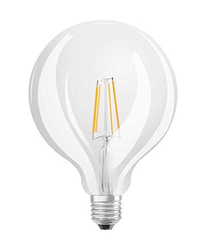 Osram LED Retrofit Classic Globe Lampe, Sockel: E27, Cool White, 4000 K, 7 W, Ersatz für 60-W-Glühbirne