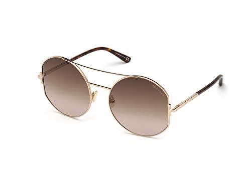 Tom Ford sonnenbrille FT0782 DOLLY 28F Gold braun größe 60 mm Frau