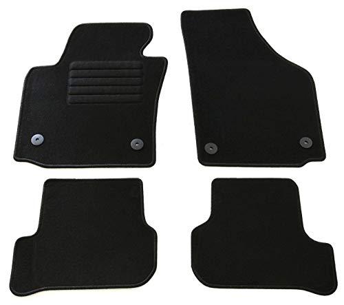 Passgenau Kofferraumwanne geeignet f/ür Skoda Fabia III Kombi ab 2013 ideal angepasst schwarz Kofferraummatte Gurtschoner