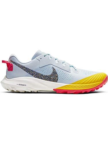 Nike Herren Air Zoom Terra Kiger 6 Straßen-Laufschuh, Aura/Blackened Blue-Mint Foam, 44 EU