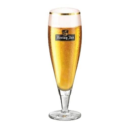 Hertog Jan - Ölglas på fot 25 cl - set med 6