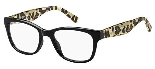 Tommy Hilfiger Damen Brillengestell Schwarz schwarz