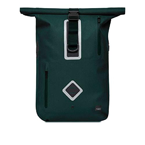 Knomo Kew Water Resistant Commuter Backpack 15',Alpine Green,One Size