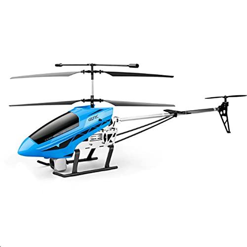 Kikioo Aereo telecomandato di grandi dimensioni 3.5Channel 2.4GHZ Gyro Induction Induction RC Helicopter 4K Dual Camera Rc Plane LED Outdoor Quadcopter per bambini e adulti Regali Drone Modello di aer