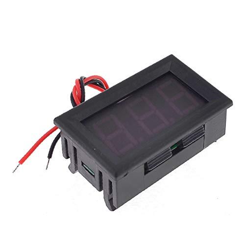 X-DREE Rojo 3 dígitos alto rendimiento 7 segmentos LED esencial Pantalla Voltaje Voltímetro Bie_n hecho DC 4-30V(a49-88-6c-d20)