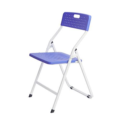 UCYG Outdoor Meubels Plastic Kantoorstoel Vouwen, Draagbare Stapelbare Lichtgewicht Opvouwbare Stoelen Voor Party Dining Camping Tuin, Ondersteunt 150KG, 81x48x43cm