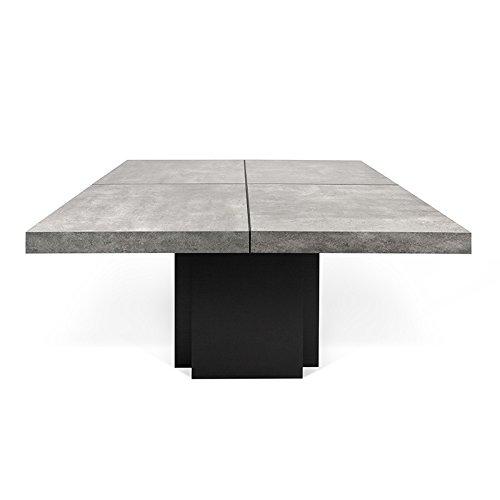 Paris Prix - Temahome - Table De Repas Dusk 130cm Béton