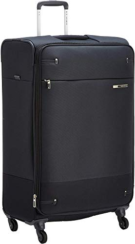 Samsonite Base Boost Spinner L Valigia Espandibile, 78 cm, 105/112.5 L, Nero (Black)