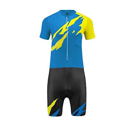 Uglyfrog Wear Andrea Completo Estivo Ciclismo, Bianco LTF01