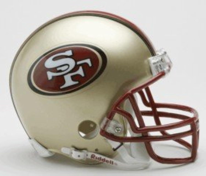 San Francisco 49ers 19962008 Throwback Replica Mini Helmet w  Z2B Face Mask