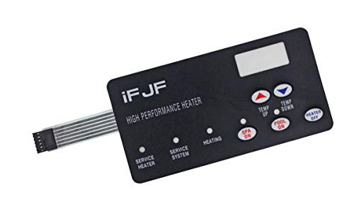 iFJF Switch Membrane Pad Replacement #472610Z Replace for Pentair Compatible for MasterTemp Pool and Spa Heater Electrical System