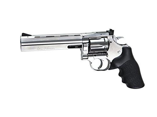 ASG Dan Wesson 715 CO2 Airgun Revolver 6', Silver