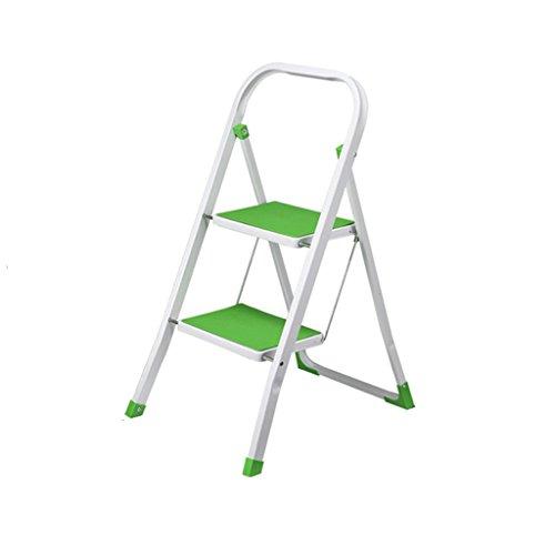 Nydzdm barkruk, ladder voor huis, 2 standen, inklapbare armleuningen, antislip, vergroting, inklapbaar