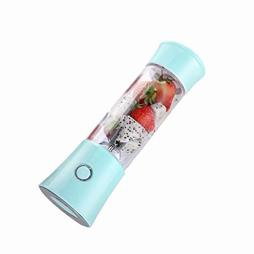 JING Máquina Batidora Licuadora Portátil, Mini Licuadora, USB Recargable, Licuadora Exprimidor Portátil Sin BPA, Adecuada Para El Hogar, Los Viajes, El Exterior