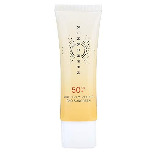 40 g Sonnenschutzmittel, SPF50 + Körpergesicht Isolation Sonnenschutzlotion Sommer feuchtigkeitsspendende Sonnencreme für empfindliche Haut - wasser- und schweißresistenter Körper
