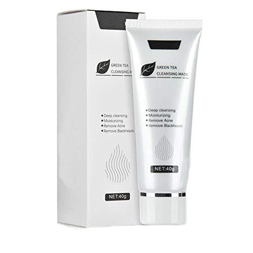 JUSM Blackhead Peeling and moisturizing Green Tea maskRemover MaskAnti-AgingGreen Tea Matcha Mud Facial Mask Deep