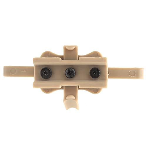 Sicerk Casco de Nylon para cámara, Casco Adaptador de Soporte de cámara Casco Montaje de cámara Casco de cámara antienvejecimiento para Casco para Soporte de cámara