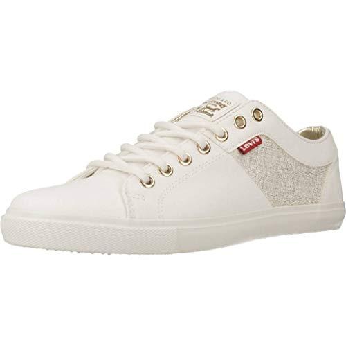 Levi's® Damen Sneakers Woods W weiß 36