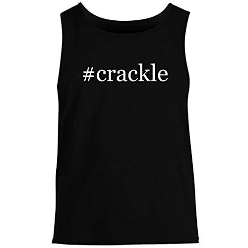 #crackle - Men's Hashtag Summer Tank Top, Black, XX-Large
