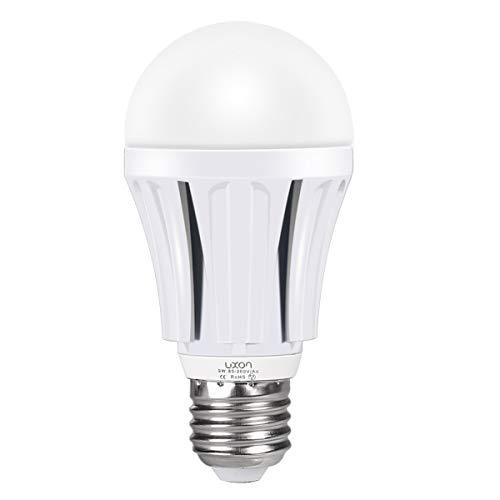 Motion Sensor Light Bulb 9W Dusk to Dawn Light Bulbs E26 Base Indoor Sensor Night Lights Soft White 2700K Outdoor Radar Motion Sensor Light Bulb Auto On/Off by LUXON
