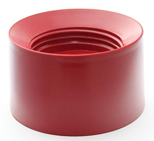 Collier/base rouge empire de remplacement pour les modèles de mélangeurs sur socle KitchenAid commençant par KSB52, 5KSB52, 5KSB5B, 5KSB5E