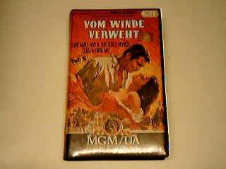 Vom Winde verweht Teil 2 VHS
