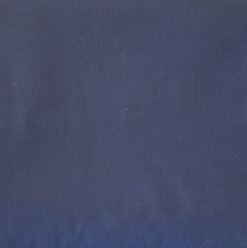 Pingianer 100% Baumwolle Uni Einfarbig Baumwollstoff Kinderstoff Meterware Handwerken Nähen Stoff (Dunkelblau, 100x160cm (9,99/m))