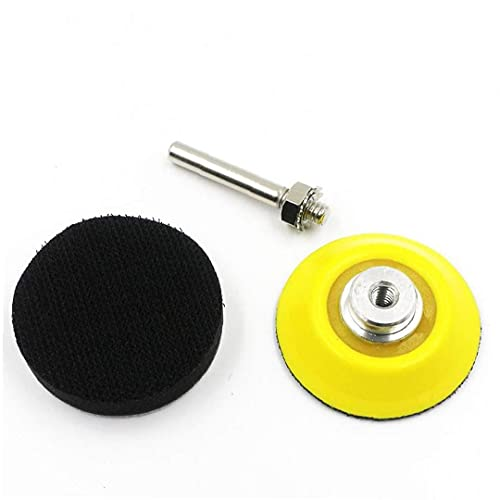 Hook Loop Sanding Pad Shank Backing Pad 2 Inch(50mm) Drill Foam Sponge Attachment Sander Drill Accessories 5PCS Lovely Father's Day Gift