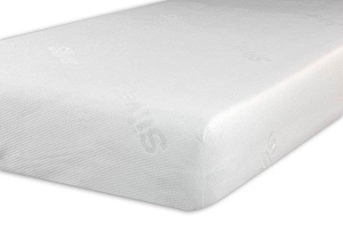 V.I.P. Very Important Pillow V.I.P. Coprimaterasso Ioni d'Argento Silver+ con Elastico, Protezione Antibatterica Made in Italy 170 x 200 cm Matrimoniale, Tessuto Jacquard Bielastico, 170 x 200