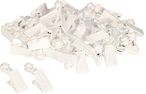 KOTARBAU Set di 100 clip per tende (anelli per tende)