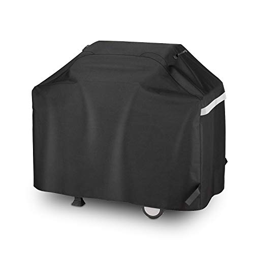 Utheer 55 Inch 3 to 4 Burners Gas Grill Cover for Dyna-Glo DGF350CSP-D DGC310CNP-D DGB390SNP-D KitchenAid 700-0745A 720-0954, BBQ Cover for Collapsed Side Tables Weber Char-Broil Nexgrill Brinkmann