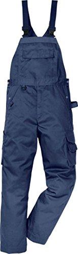 Fristads 113101 Kansas Workwear Latzhose Gr. 46 cm, dunkles marineblau
