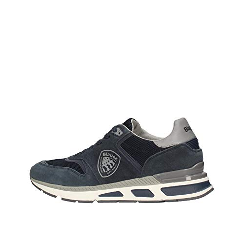 Blauer Herren Sneaker Hilo blau Gr. 42