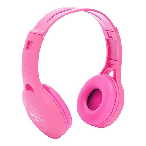 Auricular para Montar en la Cabeza, 5.0 Bluetooth Auricular Bluetooth Compatible con FM con Interfaz de Audio de 3.5 mm para Correr y Hacer Ejercicio(Pink, Pisa Leaning Tower Type)