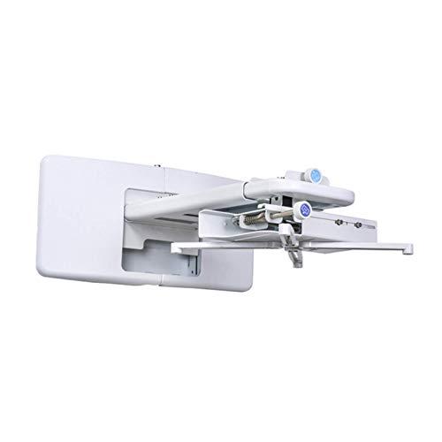Soporte de proyector para techo o pared Proyector láser de alcance ultracorto Soporte de recorte de TV Soporte de montaje de proyector duradero Soporte de montaje en pared, solo soporte (color: predet