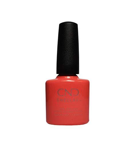 CND Shellac Vernis à ongles en gel UV soak off de choisir parmi 89 couleurs Inc Toutes les collections et la nouvelle collection Garden Muse (allthingsbountiful) (Desert Poppy (Open Road Collection))