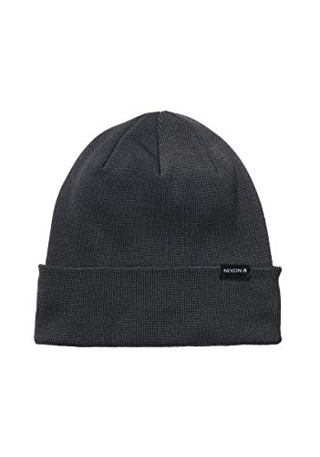 NIXON District Beanie - Dark Slate