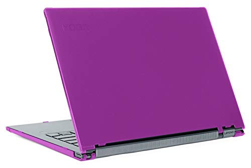 mCover - Carcasa rígida para Lenovo Yoga C930 de 13,9' (no Compatible con Yoga 900/910/920) Púrpura