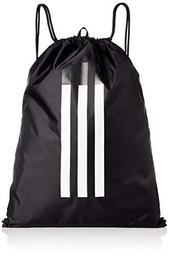 adidas 3s Gymsack Sports Bag, Unisex Adulto, Black/Black/White, NS