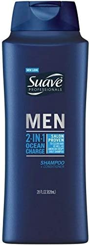 Suave 2n1 Sh Cd Mens Ocea Size 28z Suave 2n1 Shampoo Conditioner For Men Ocean Surge 28z product image