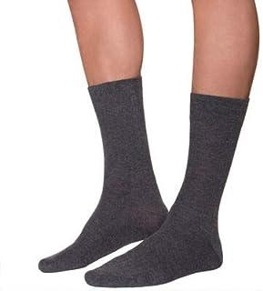YANOIR 6/12 pares Calcetines Térmicos para Hombre/Mujer, altos de Algodón + Rizo interior