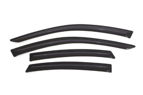 Auto Ventshade 94861 Original Ventvisor Side Window Deflector Dark Smoke, 4-Piece Set for 2013-2018 Nissan Altima
