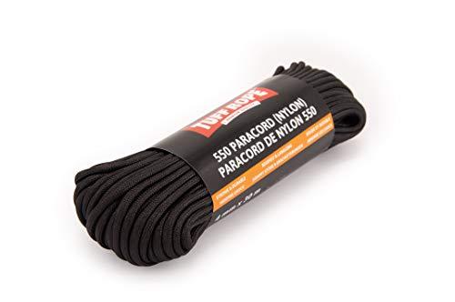 Tuff Rope Paracord 550 (nylon) - 30 m x 4 mm - fune per esterni antistrappo - diversi colori - 7 fili