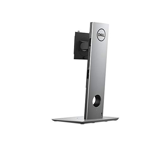 Dell Height Adjustable Stand – Customer Kit – Monitor/Desk Stand (Adjustable) – Screen Size: 19-27 Inches – Desktop – for OptiPlex 7070 Ultra