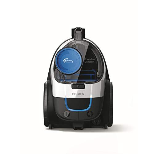 Philips FC9332/09 Aspirateur sans Sac PowerPro Compact, 650W, Capacité de Poussière 1,5L, Suceur...