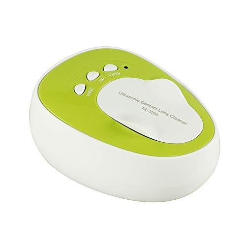 PQZATX Ultraschallreiniger Kontaktlinse -Ultraschallreiniger für Kontaktlinsen, EU-Stecker