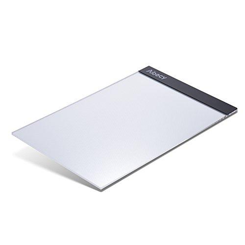 Aibecy A4 LED コピーボード ライトボックス トレース台 USBケーブル付き 書道ステンシル描画用