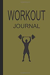 WORKOUT JOURNAL: Fitness Journal / notebook : Record, Plan For The New Year 2020