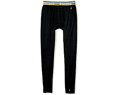 Smartwool Merino 150 Baselayer Bottom - Men's Merino Wool Pattern Performance Bottoms Charcoal Large