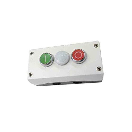 M22-I3-M2 Control station 22mm IP67 control panel Body grey EATON ELECTRIC